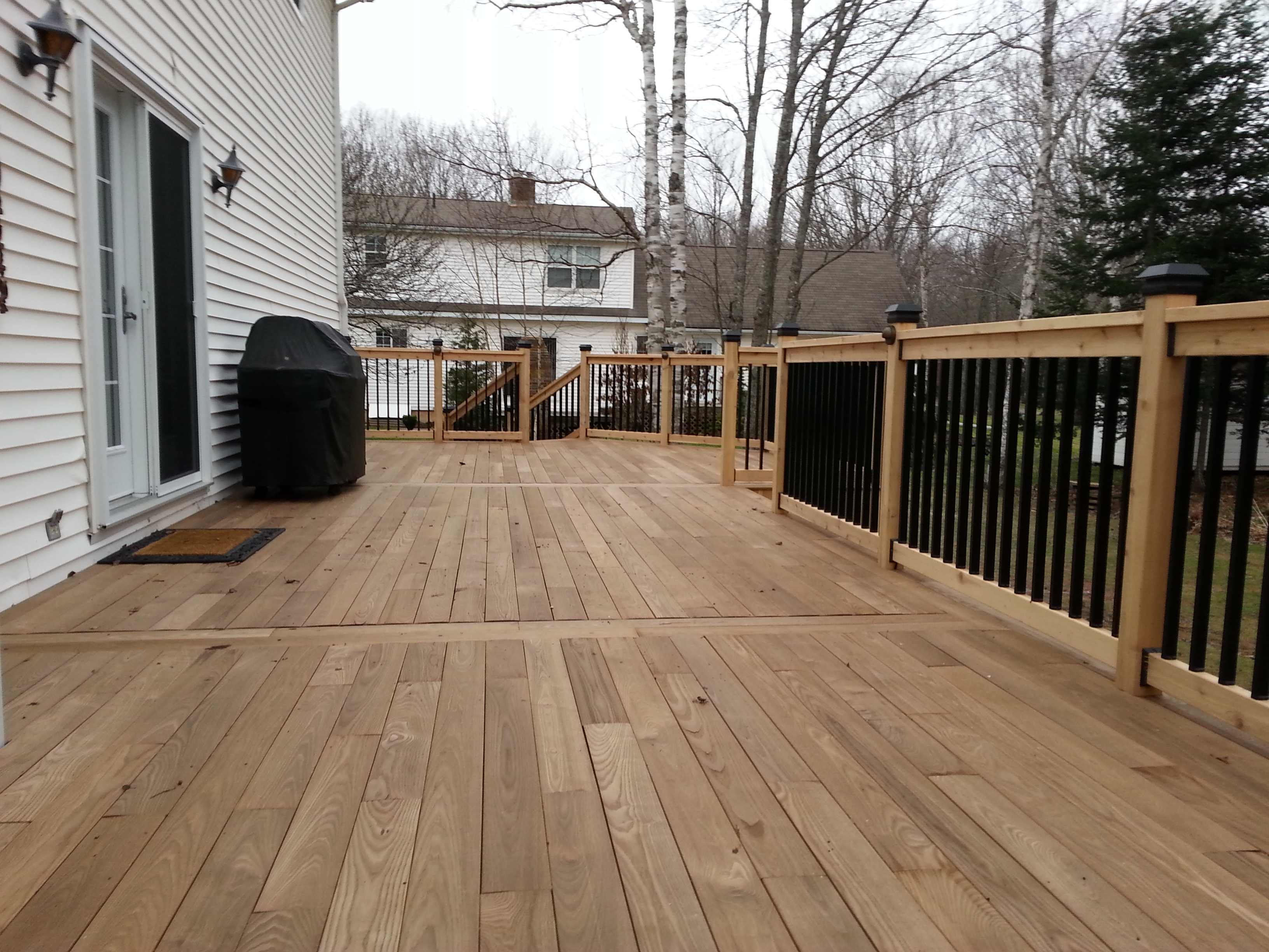 Ash Snap-to-it decking