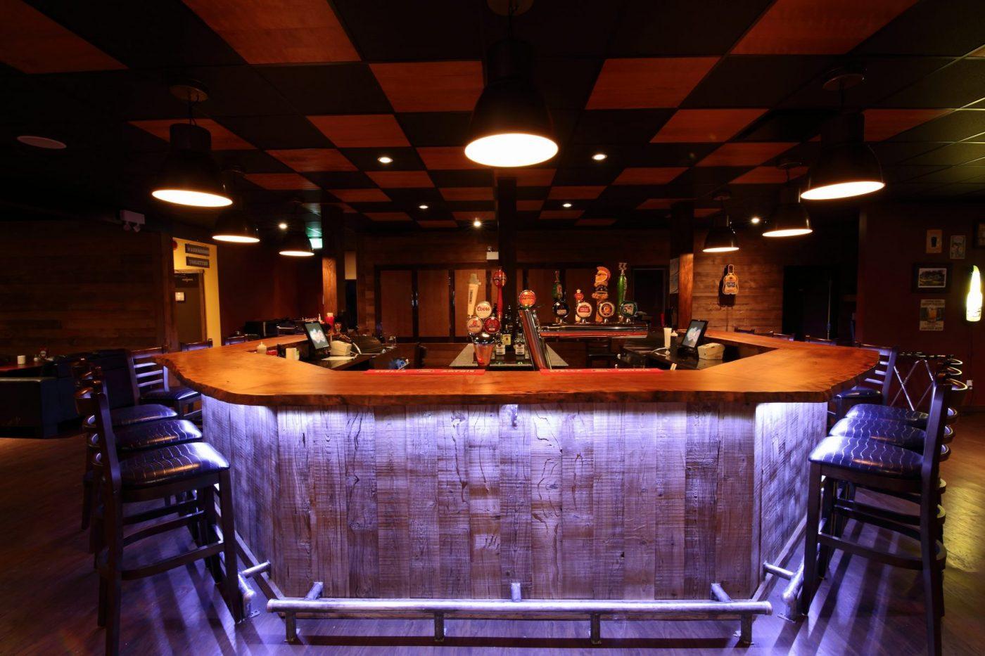 Live Edge Bar