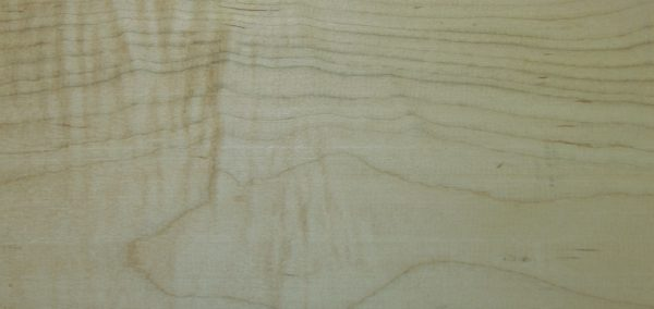 Soft Curly Maple - Grade 3a